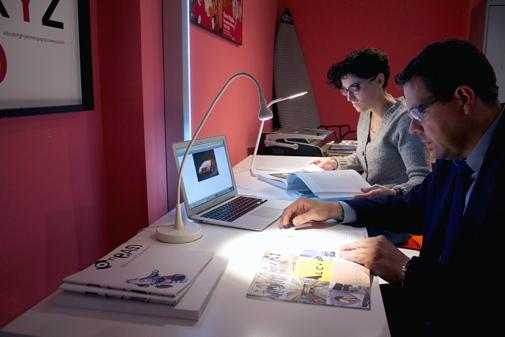 sala de trabajo coworking madrid